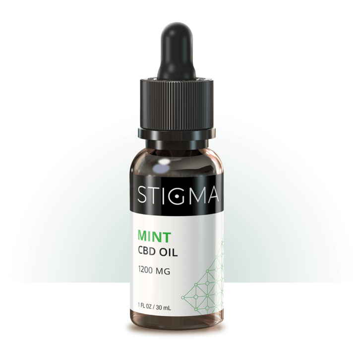 Mint CBD Oil (1200MG)